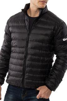 AlpineSwiss Niko Packable Light Mens Down Alternative Puffer Jacket Bubble Coat