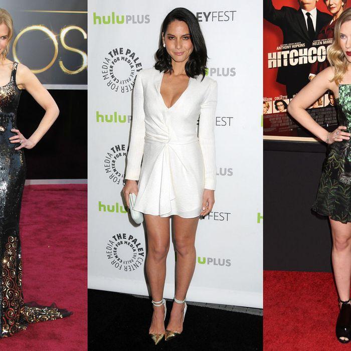 Nicole Kidman, Olivia Munn, Scarlett Johansson.