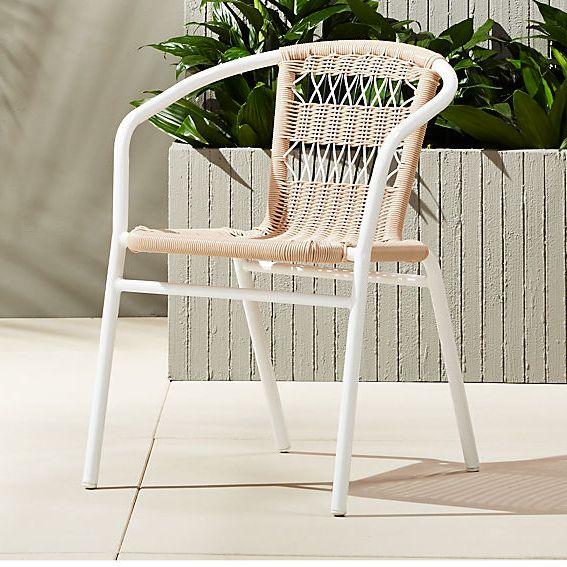 CB2 Rex Open Weave Chair
