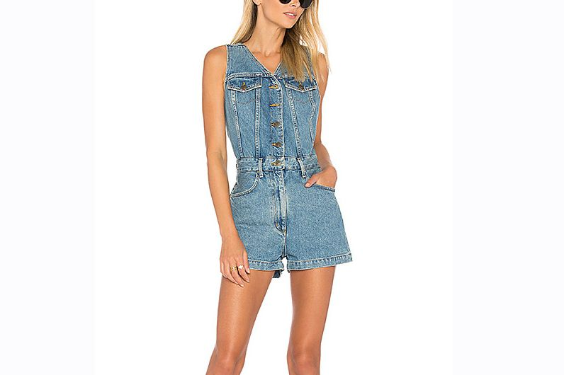Agolde Button Up Romper