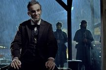 """LINCOLN"" Daniel Day-Lewis stars as President Abraham Lincoln in this scene from director Steven Spielberg's drama ""Lincoln"""