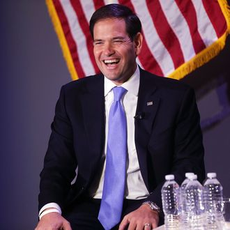 Marco Rubio Discusses The Economy In New York City