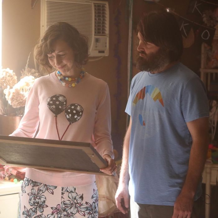 THE LAST MAN ON EARTH: Carol (Kristen Schaal, L) and Phil (Will Forte, R) in the