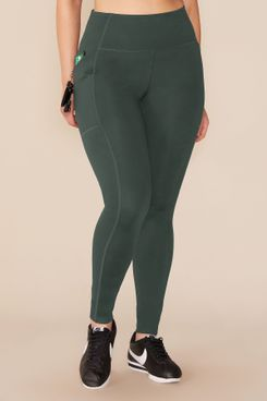 Girlfriend Collective Moss High-Rise Pocket Legging