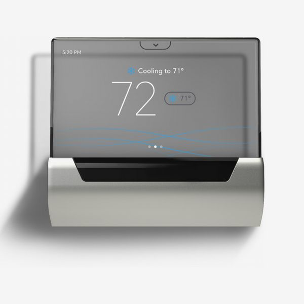Johnson Controls GLAS Smart Programmable Touch-Screen Wi-Fi Thermostat
