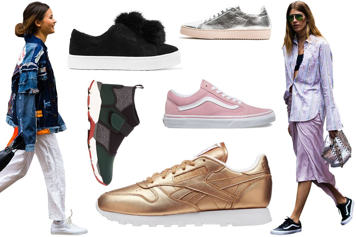 14 Fashion Sneakers Inspired By Street Style