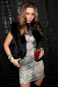 Hailey Glassman attends Hailey Glassman's birthday bash at Pacha on February 26, 2011 in New York City.
