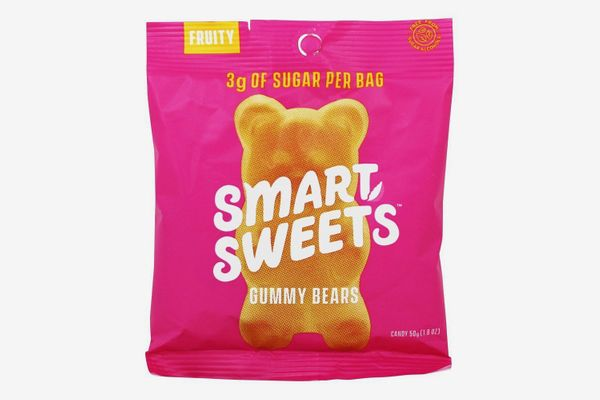 SmartSweets Low Sugar Gummy Bears Candy Fruity (Box of 12)