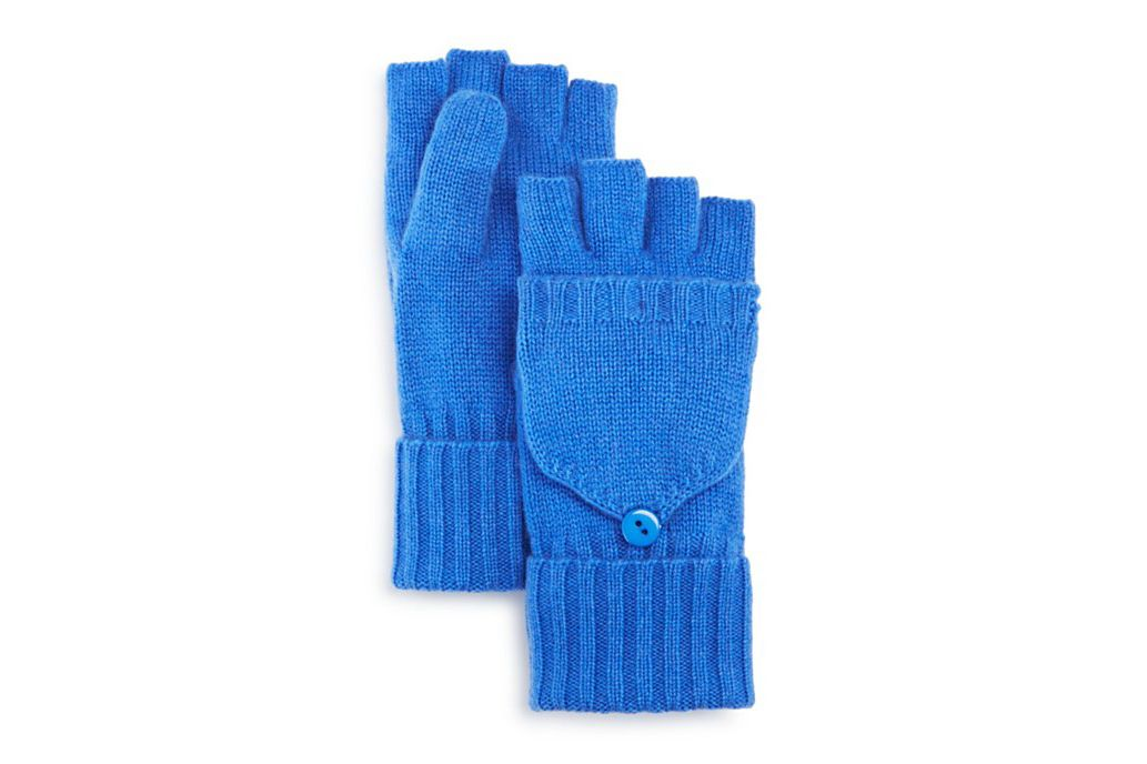 C by Bloomingdale's Cashmere Mittens