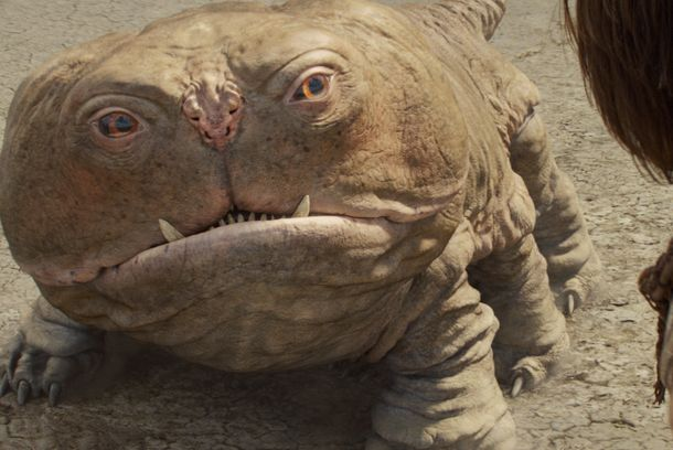 """JOHN CARTER""  L to R: Woola, John Carter (Taylor Kitsch)  ©Disney Enterprises, Inc.  All Rights Reserved."