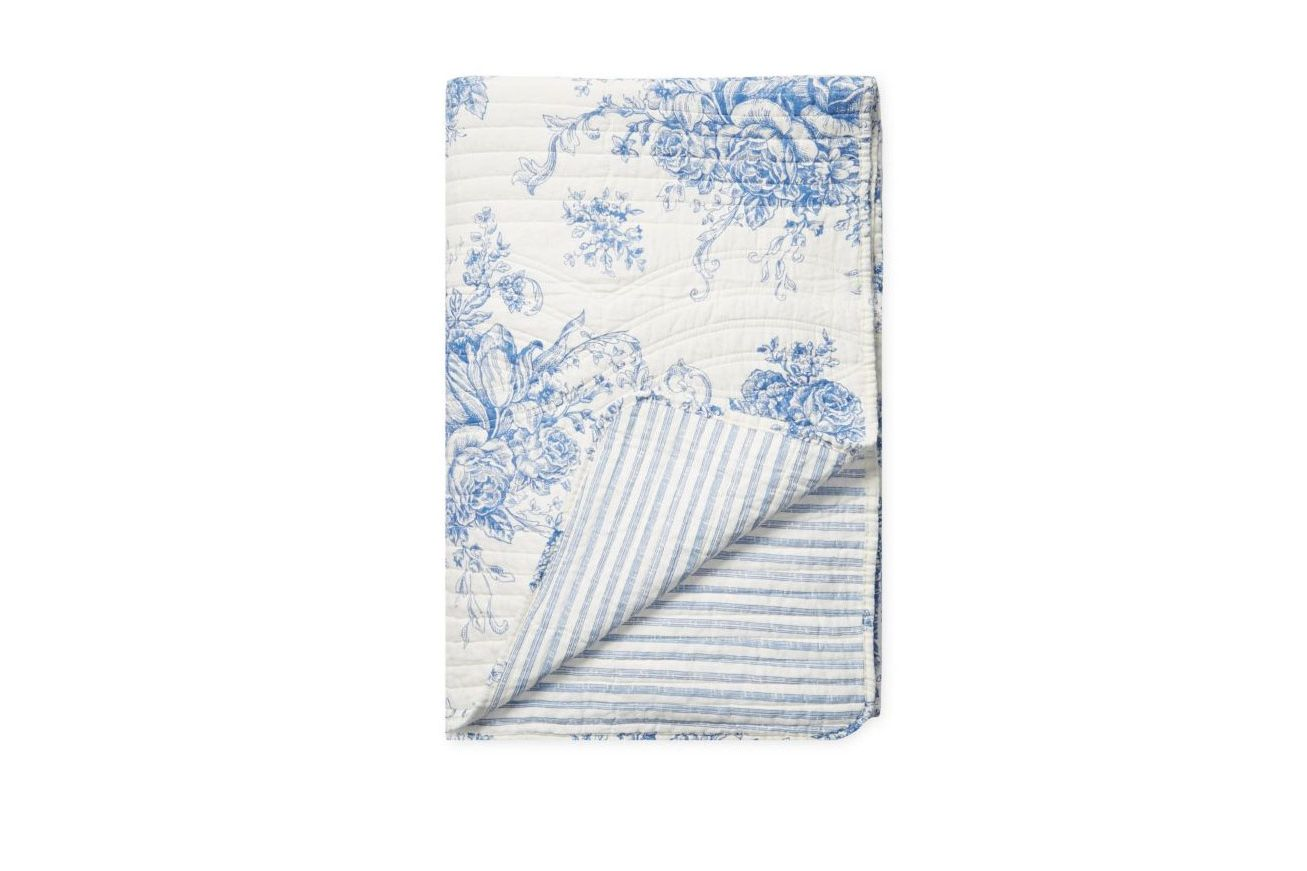 Melange Home Printed Reversible Cotton Quilt