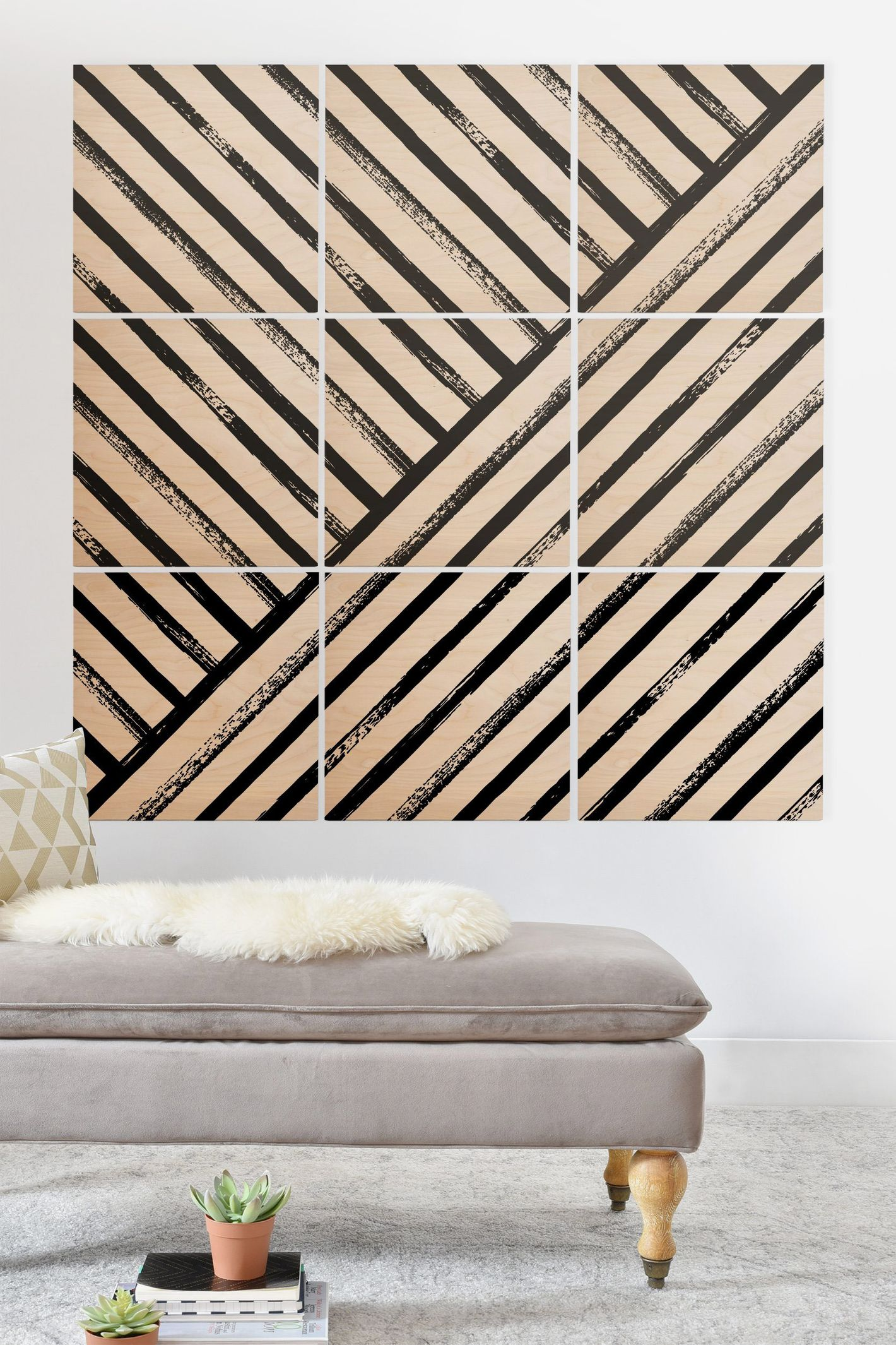 DenyDesigns Geometric Stripe Patterns