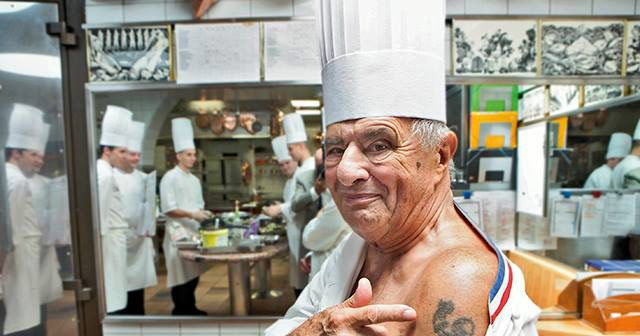 Paul bocuse s tattoo selfie is just outstanding for Cuisinier lyonnais