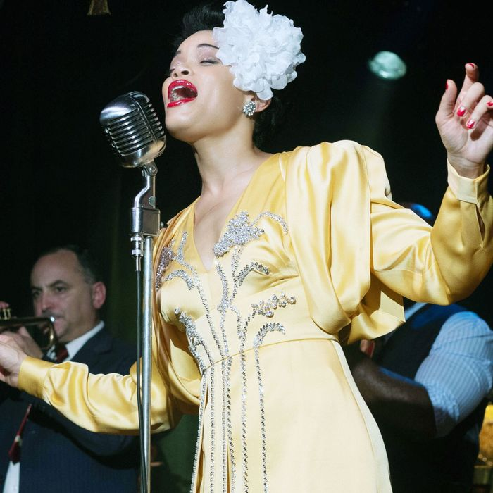 Andra Day in The United States vs. Billie       Holiday.