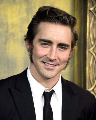 Lee Pace attends