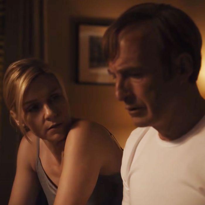 Rhea Seehorn and Bob Odenkirk in Better Call Saul.