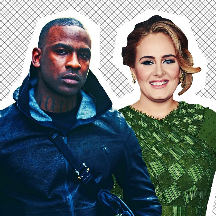 Skepta and Adele.