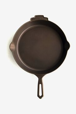 Joan 12-Inch Polished Cast-iron Skillet