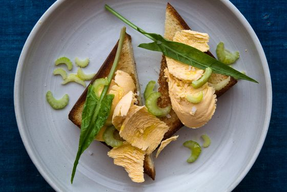 The uni-butter toast at Navy is rich and lovely.