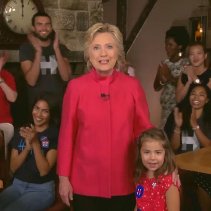 Hillary Clinton knows who runs the world.