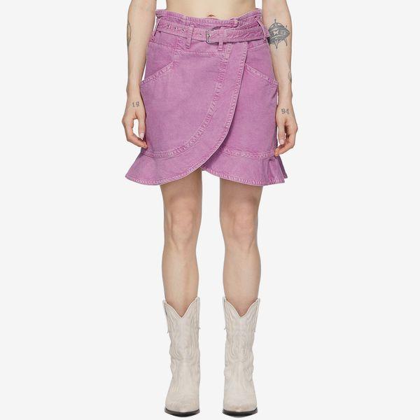 Isabel Marant Pink Roani Skirt
