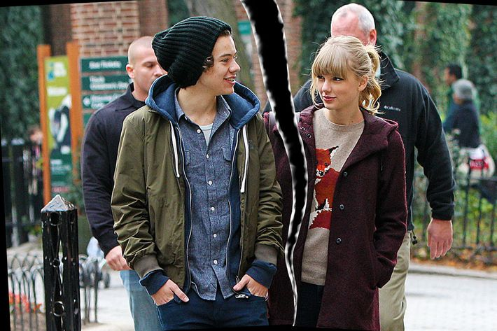 Harry Styles and Taylor Swift.