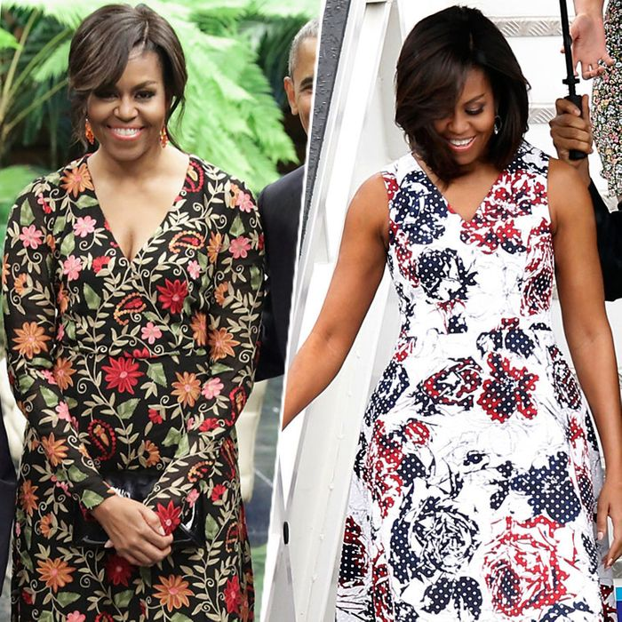 The Latin American styles of Michelle Obama