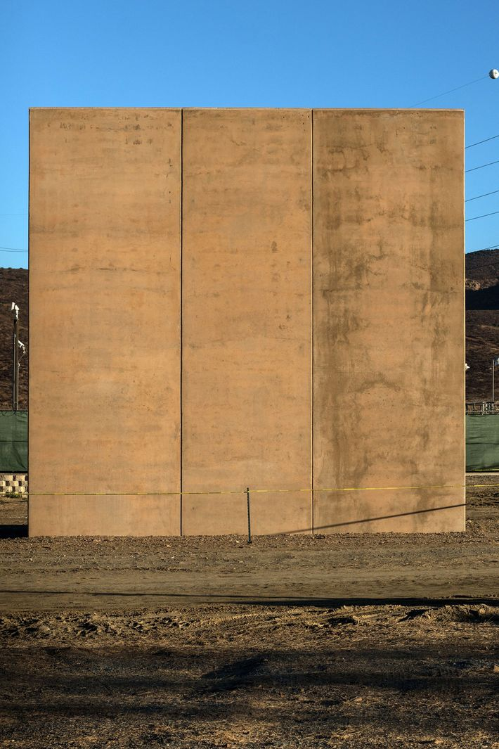 Which mexican border wall prototype is the worst for Border wall