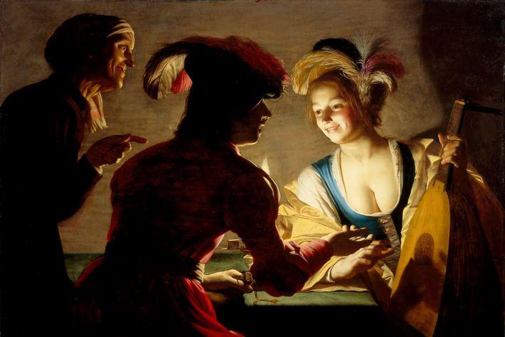 <em>The Matchmaker</em>, Gerard van Honthorst.