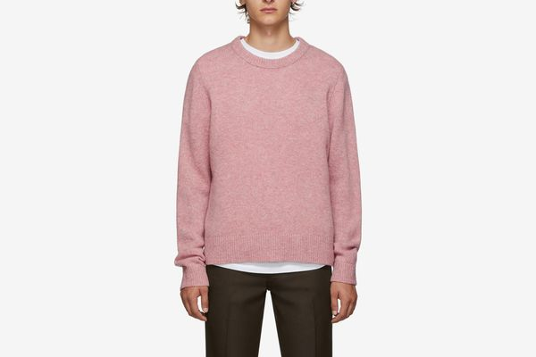 Acne Studios Pink Wool Kal Sweater