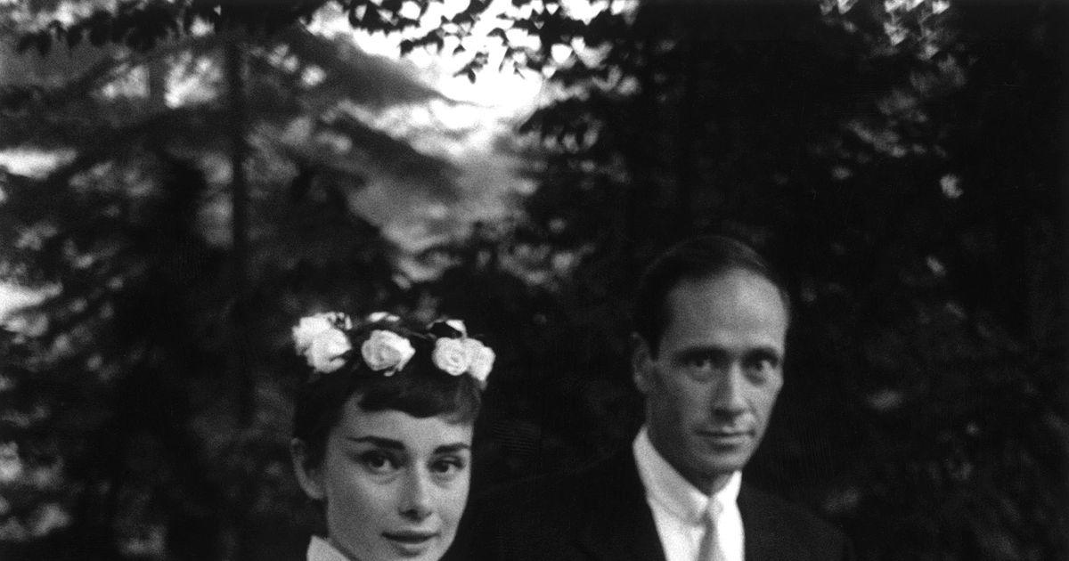 Image result for audrey hepburn mel wedding