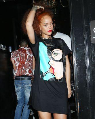 Smartly dressed human Rihanna.
