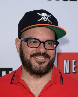 HOLLYWOOD, CA - APRIL 29: Actor David Cross arrives at the TCL Chinese Theatre for the premiere of Netflix's