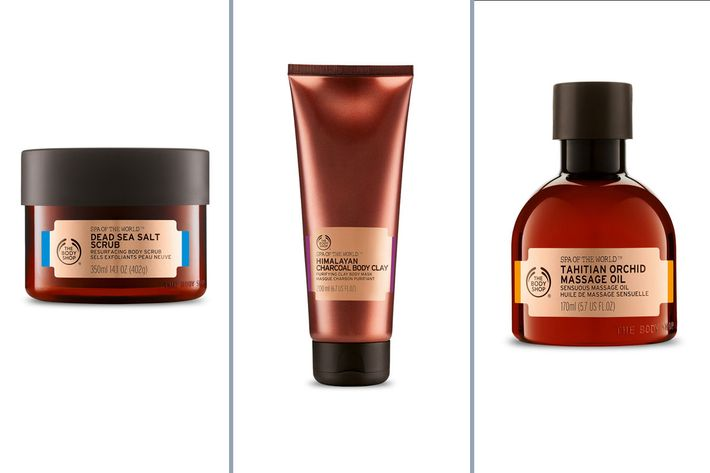 The Body Shop Spa of the World Collection.