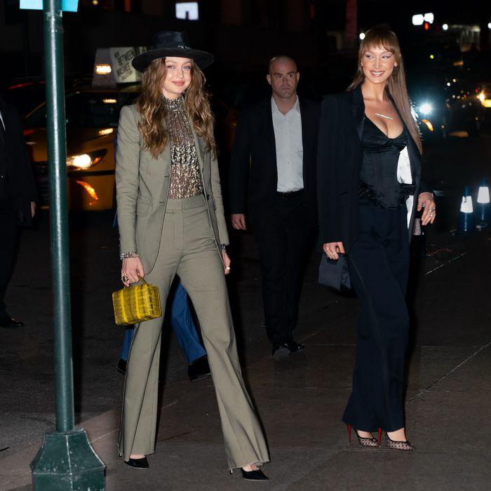 Gigi and Bella Hadid.