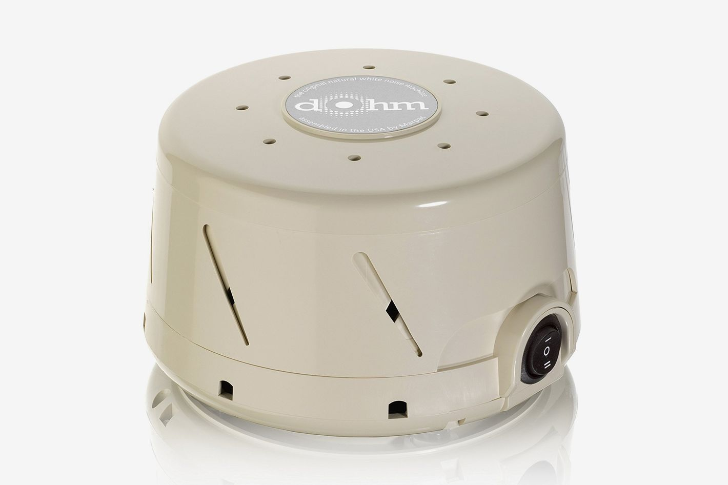 Marpac Dohm Classic White Noise Sound Machine, Tan