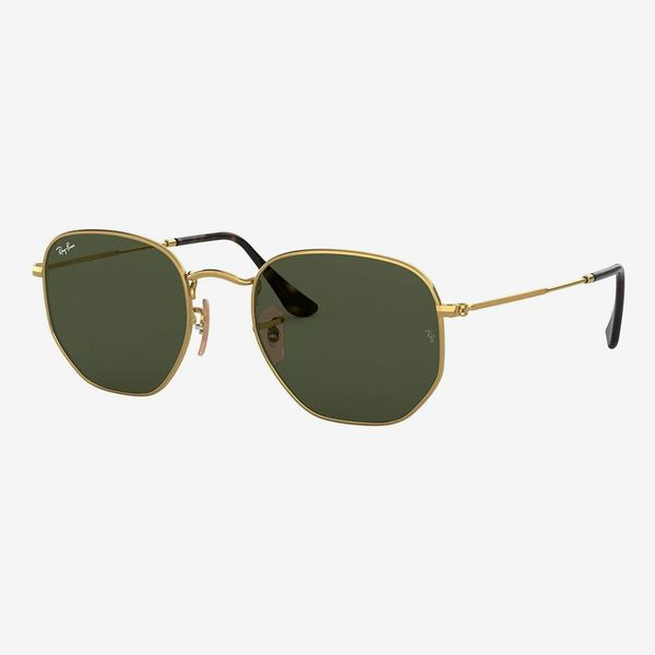 Ray-Ban Rb3548n Hexagonal Round Sunglasses