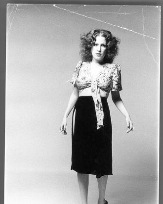 Bette Midler.