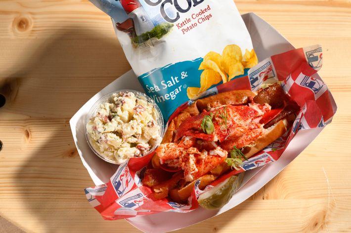 Luke's Lobster's BLT roll.