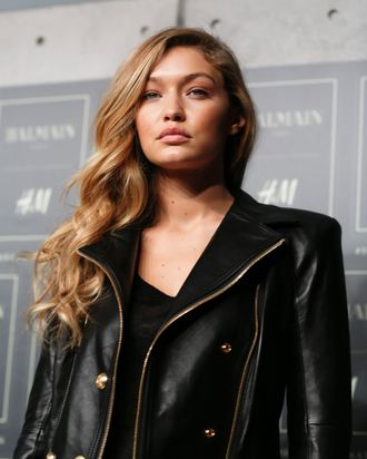 Gigi Hadid, an angel.