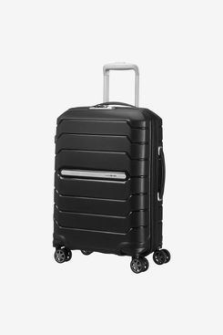 Samsonite Flux - Spinner M Expandable Suitcase, 68 cm, 85 L, Black