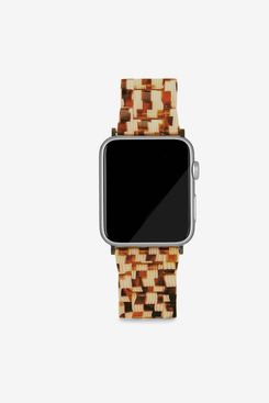 Apple Watch Band in Tortoise Checker