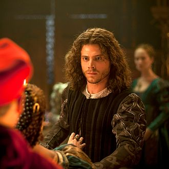 Francois Arnaud as Cesare Borgia in The Borgias