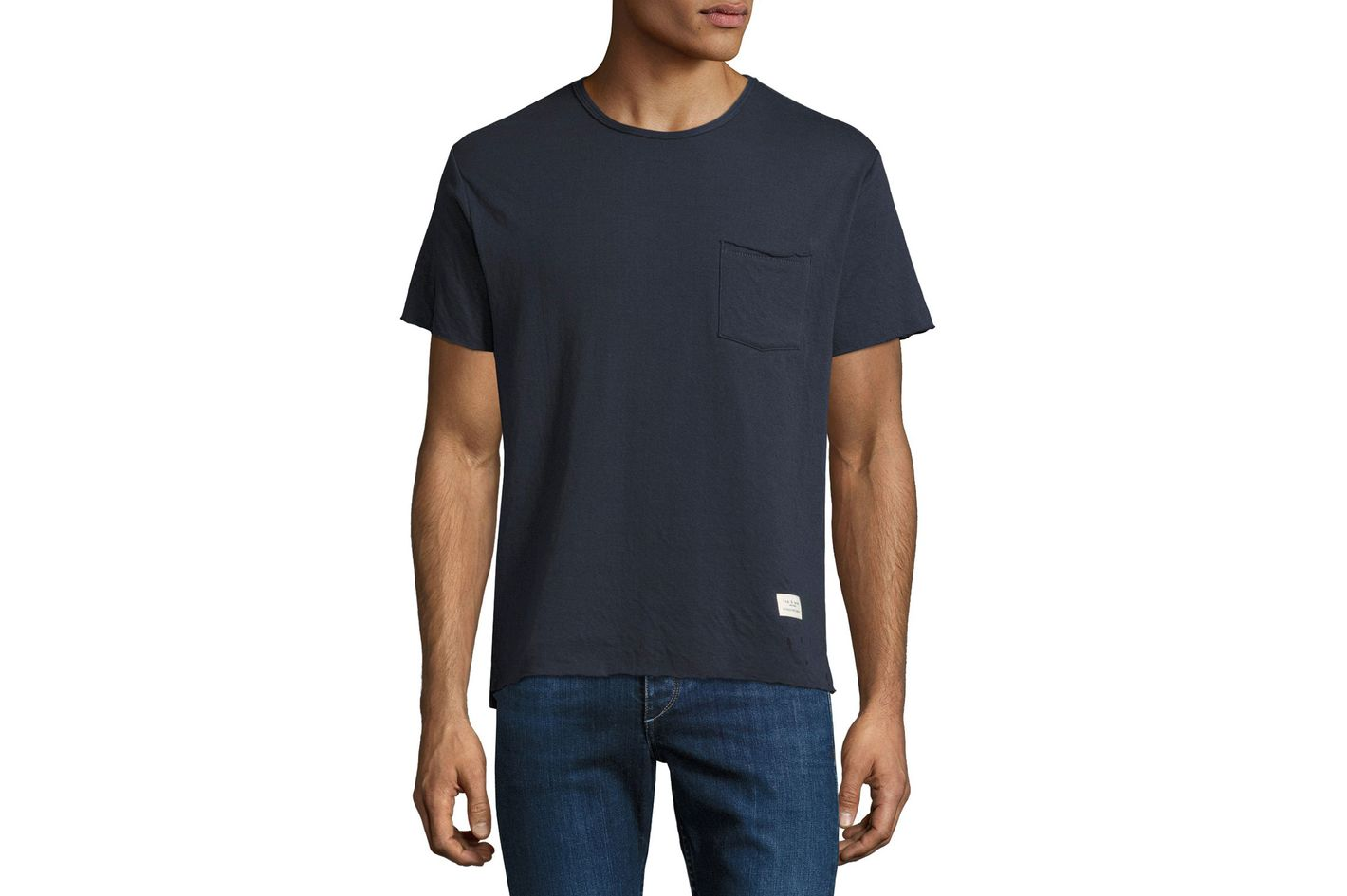Rag & Bone Double-Knit Cotton T-shirt