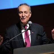 "Senator Charles ""Chuck"" Schumer attends The New School University Center Opening Showcase at The New School University Center on January 23, 2014 in New York City."