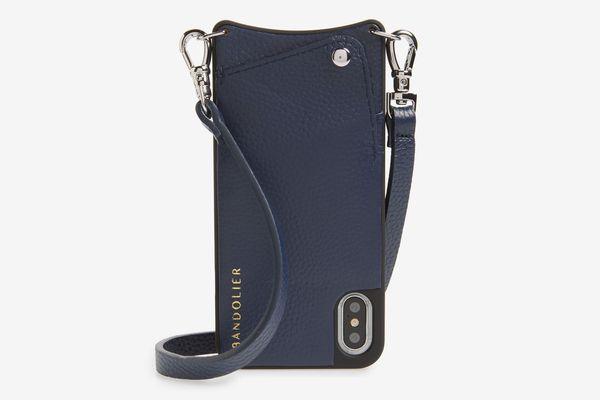 Bandolier Emma Leather iPhone Case