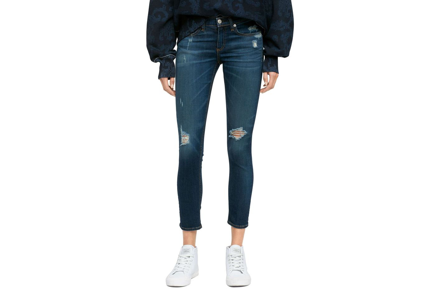 Best distressed petite jeans