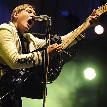 AUSTIN, TX - SEPTEMBER 18: Win Butler of Arcade Fire performs as part of  the Austin City Limits Music Festival Day Three at Zilker Park on September 18, 2011 in Austin, Texas. (Photo by Tim Mosenfelder/Getty Images)