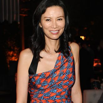 BEVERLY HILLS, CA - AUGUST 22: Wendi Deng Murdoch attends GENETIC x Liberty Ross Launch on August 22, 2014 in Beverly Hills, California. (Photo by Stefanie Keenan/Getty Images for for GENETIC Los Angeles)