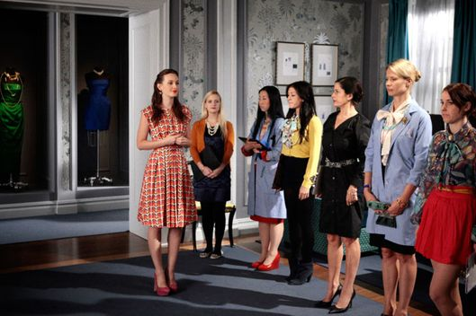 "GOSSIP GIRL-- ""Where The Vile Things Are""   Pictured: Leighton Meester as Blair Waldorf"